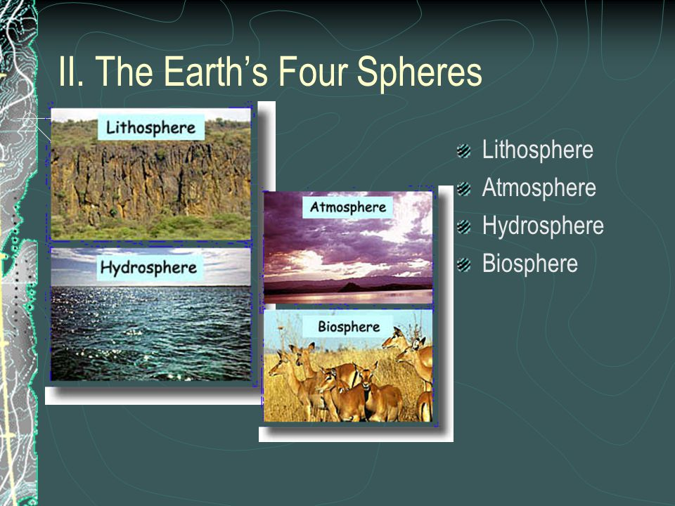 II. The Earth's Four Spheres