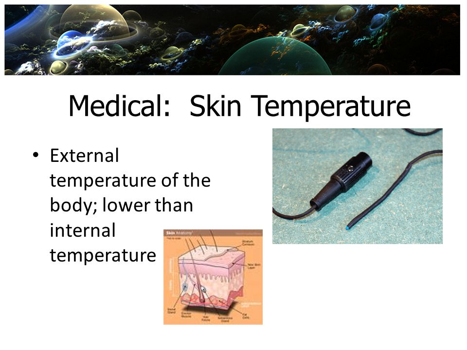 Medical: Skin Temperature