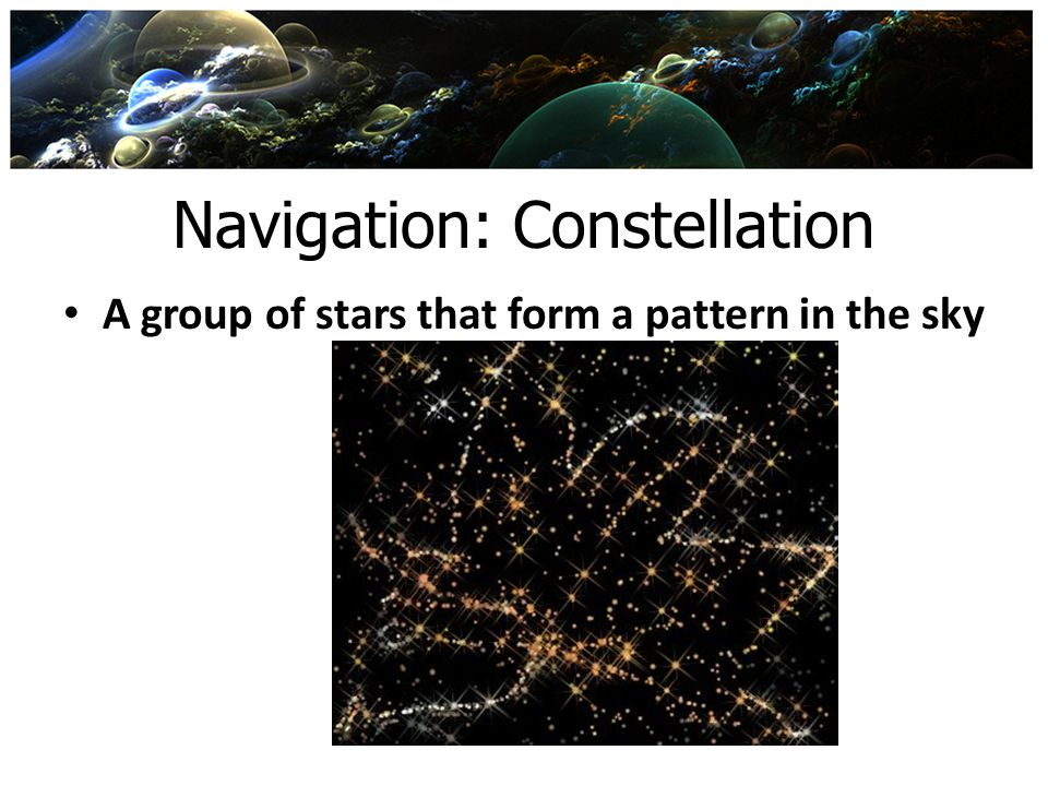 Navigation: Constellation