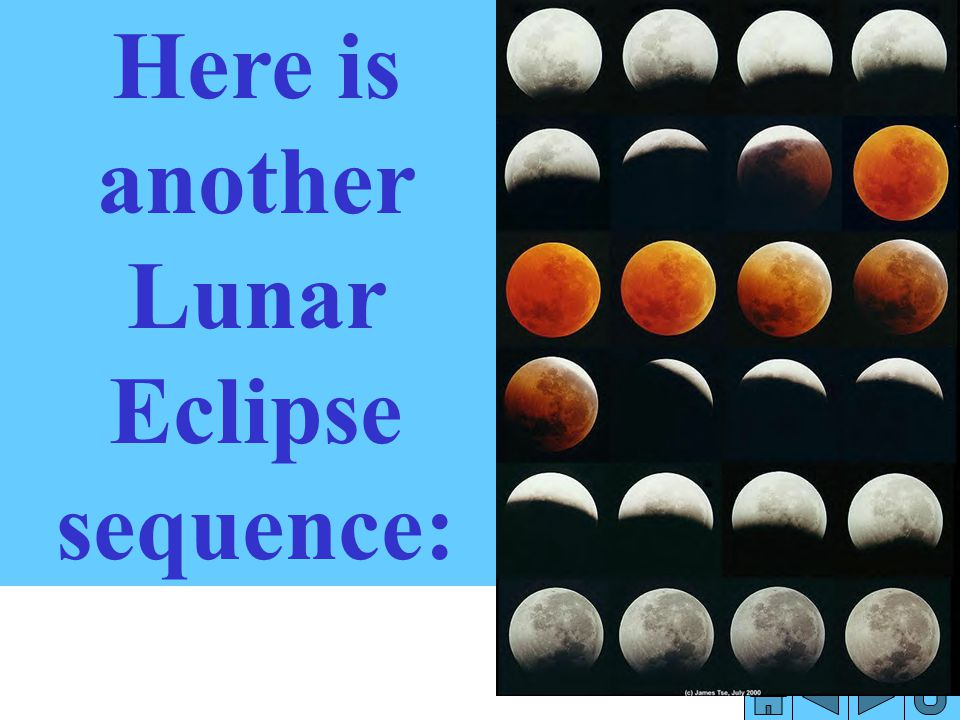 Here is another Lunar Eclipse sequence: