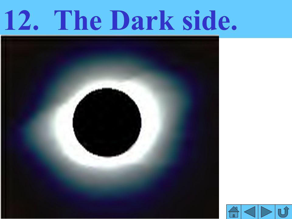 12. The Dark side.