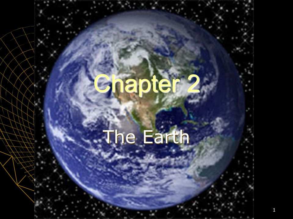 Chapter 2 The Earth