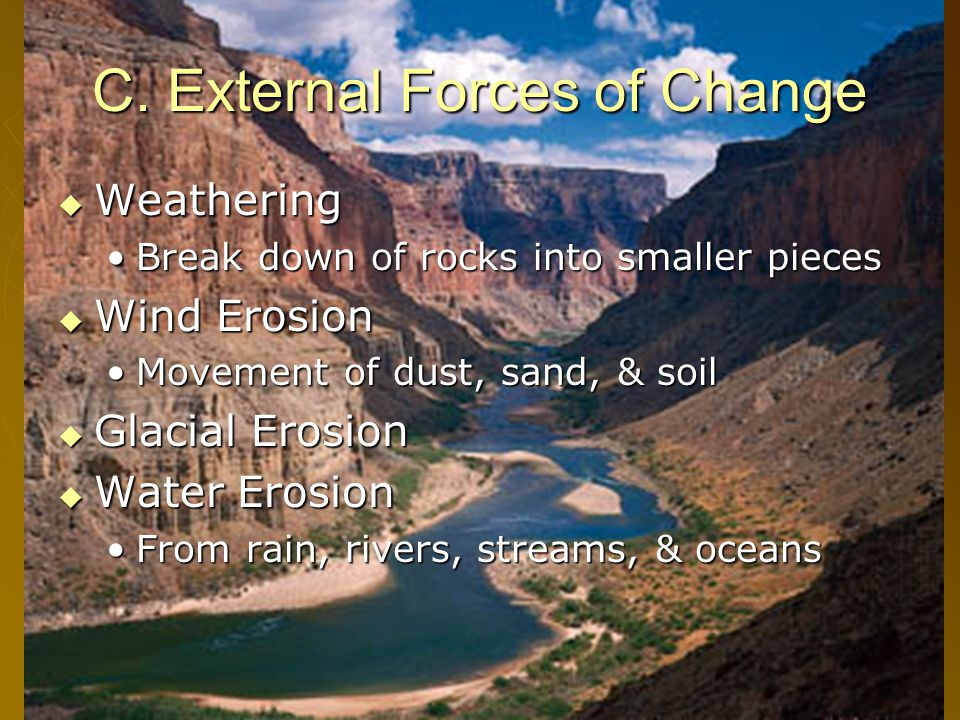 C. External Forces of Change