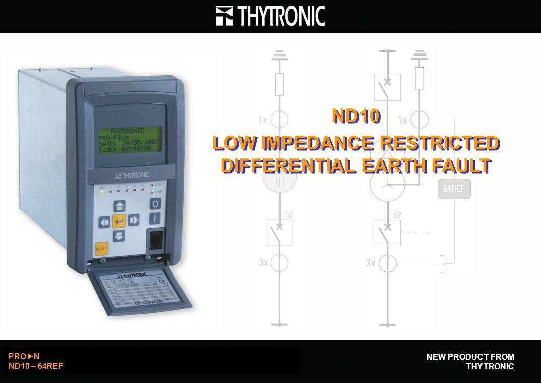 LOW IMPEDANCE RESTRICTED DIFFERENTIAL EARTH FAULT