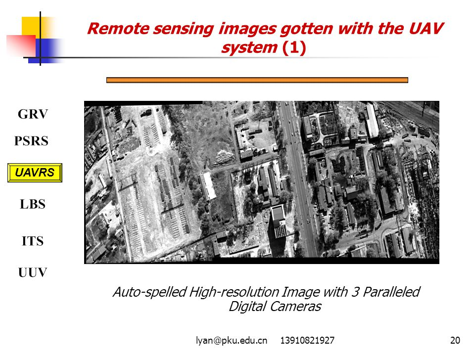 Remote sensing images gotten with the UAV system (1)