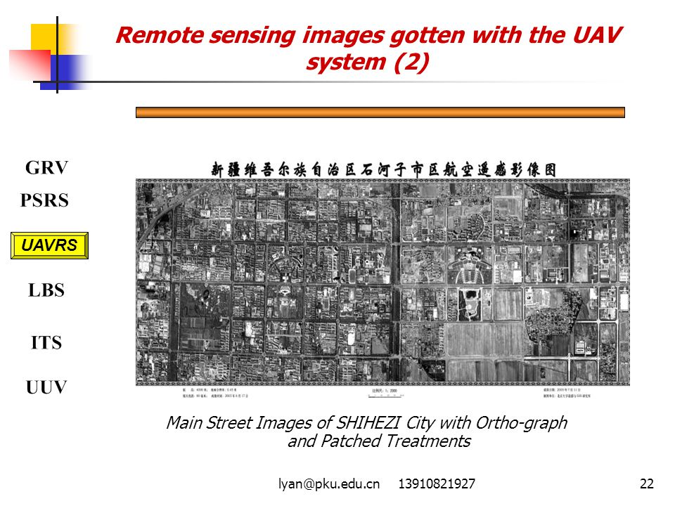 Remote sensing images gotten with the UAV system (2)
