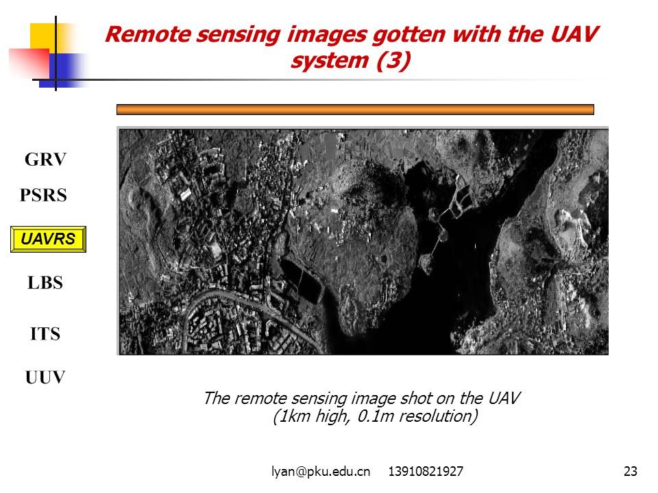Remote sensing images gotten with the UAV system (3)