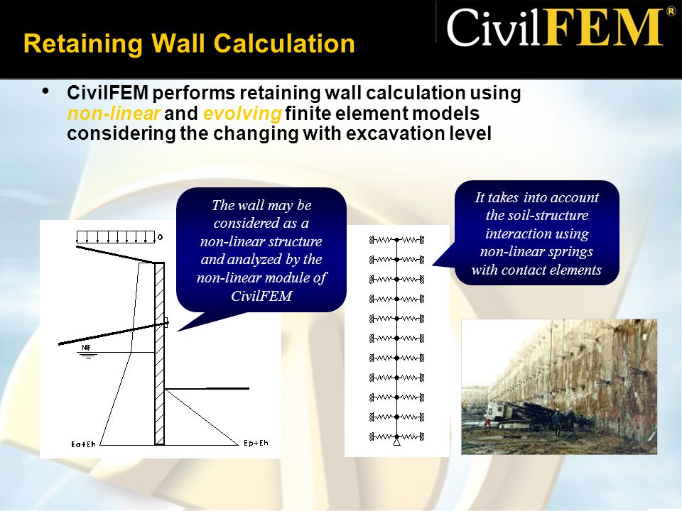 Retaining Wall Design Calculations : Top retaining wall design calculations