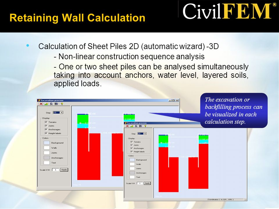 Retaining Wall Calculation