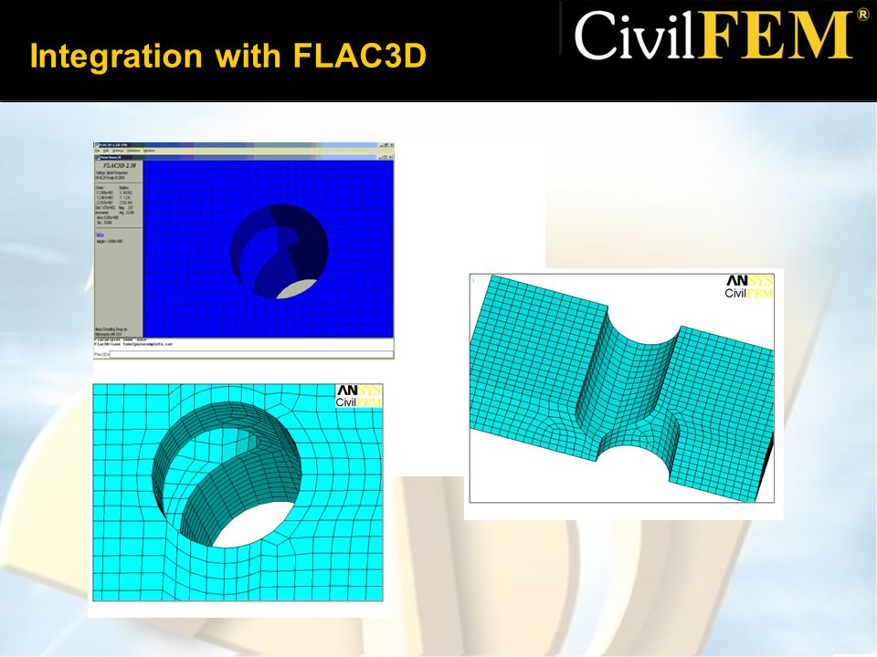 Integration with FLAC3D