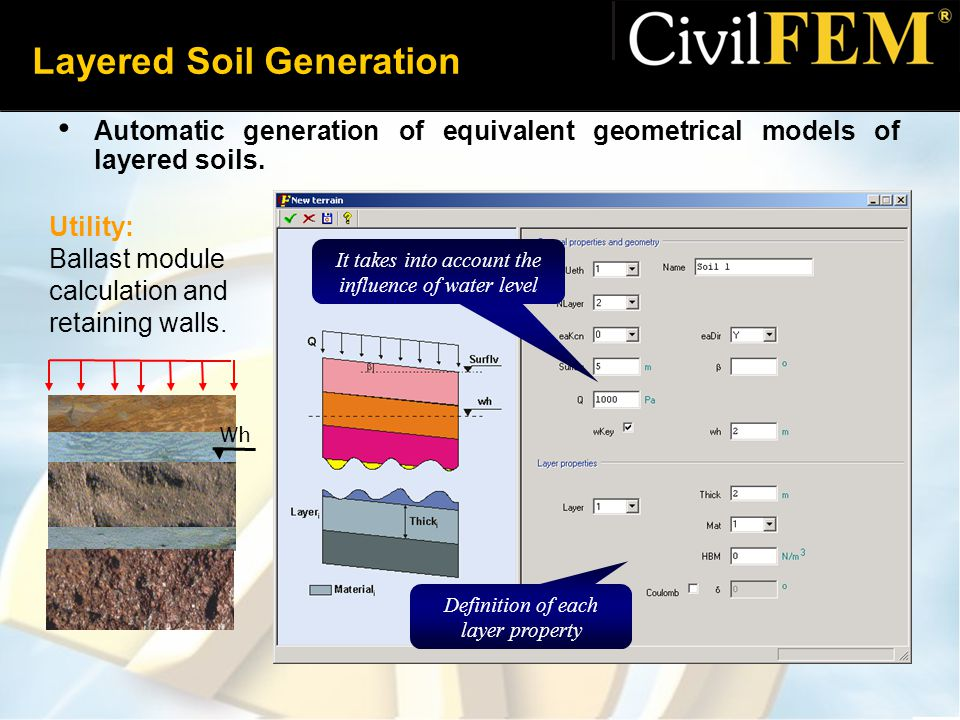 Layered Soil Generation