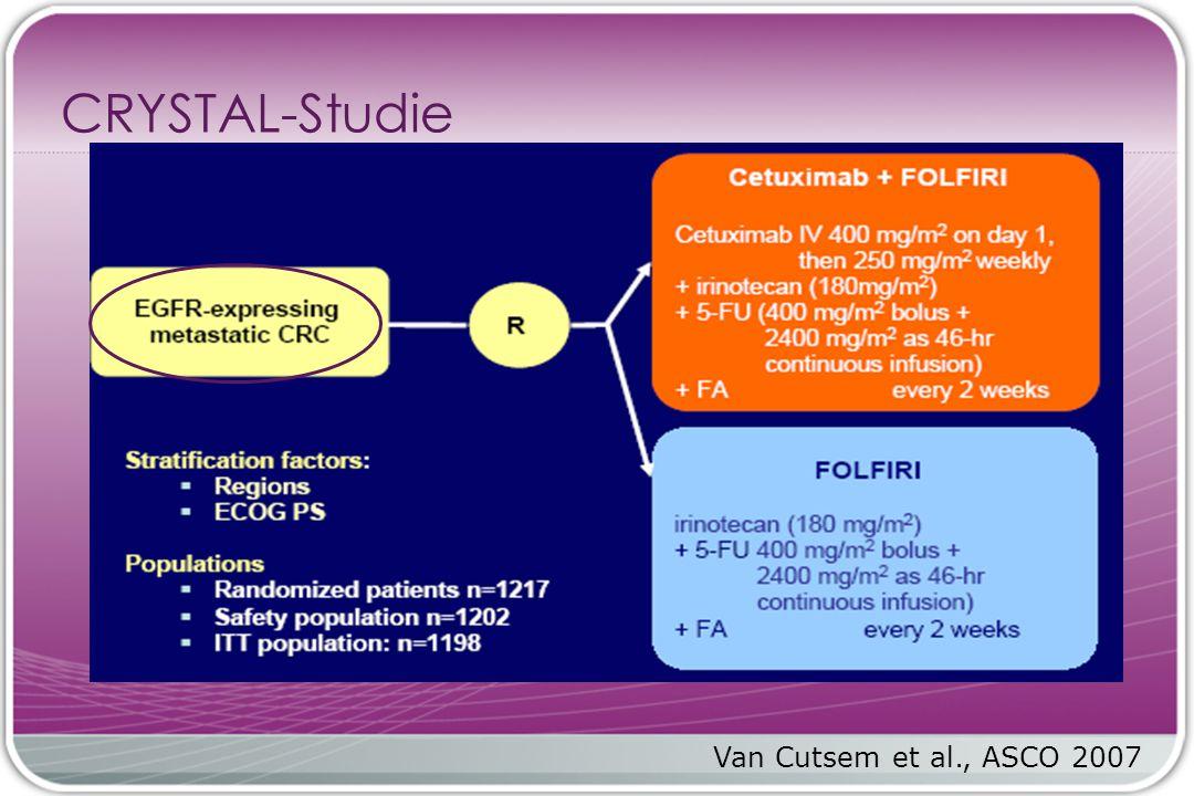 CRYSTAL-Studie Van Cutsem et al., ASCO 2007