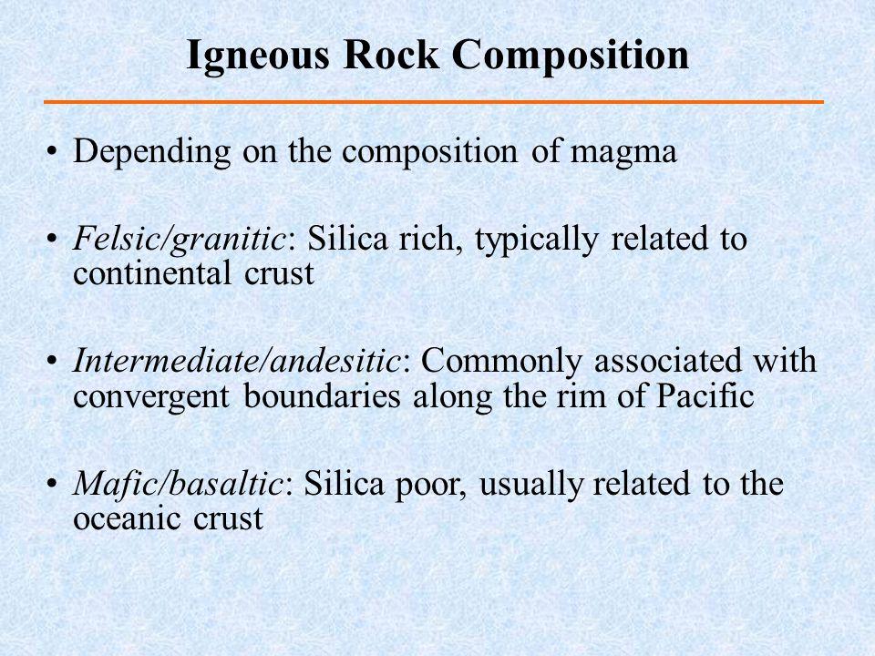 Igneous Rock Composition