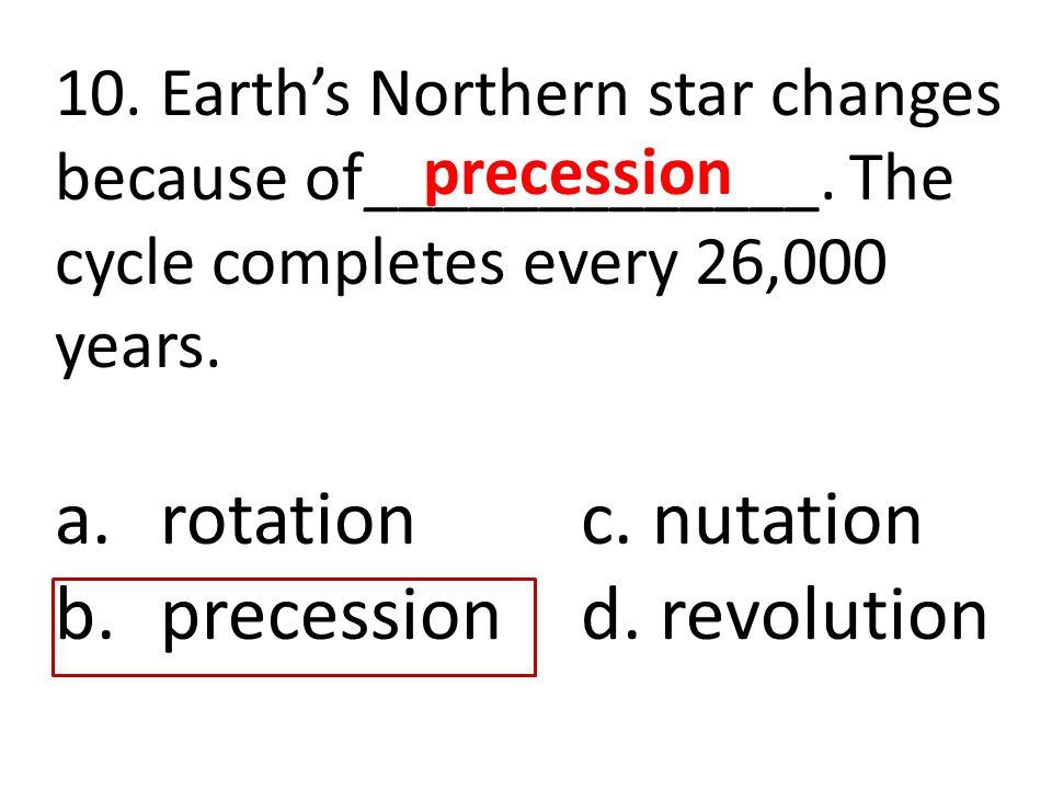 precession d. revolution