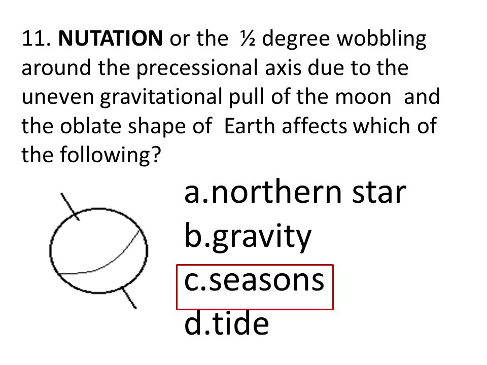 northern star gravity seasons tide
