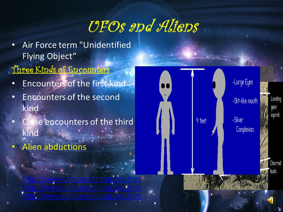 UFOs and Aliens Air Force term Unidentified Flying Object