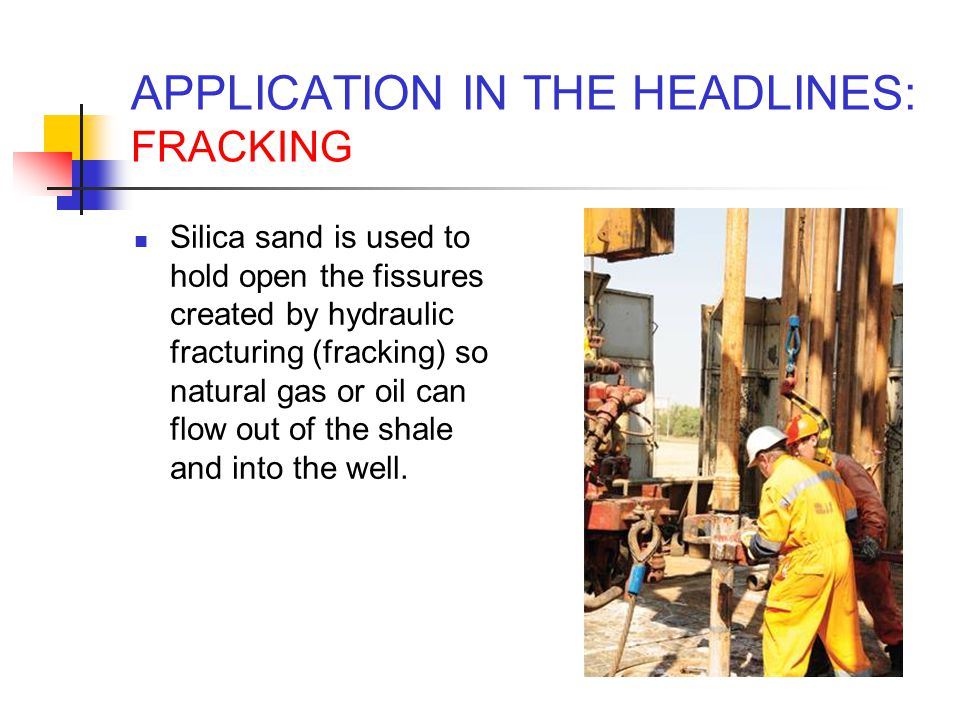 APPLICATION IN THE HEADLINES: FRACKING