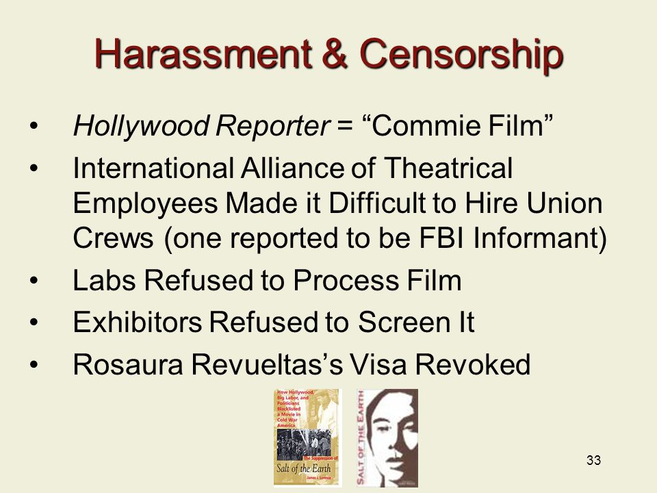 Harassment & Censorship
