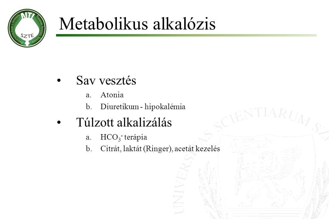 Metabolikus alkalózis