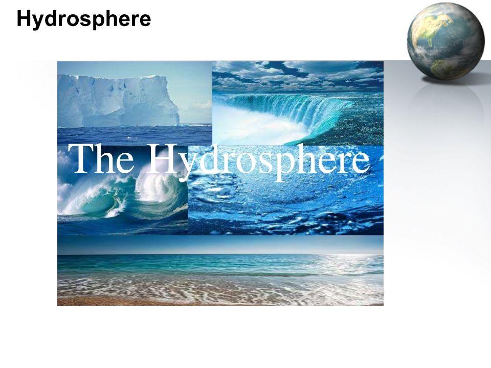 The hydro sphere