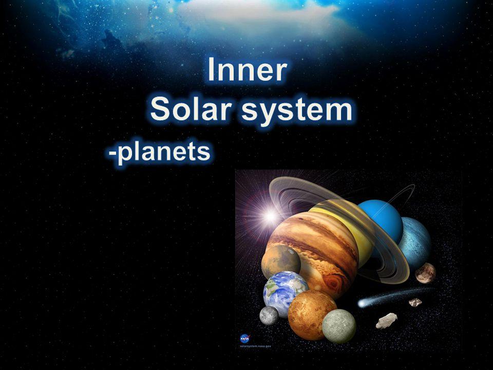 Inner Solar system -planets