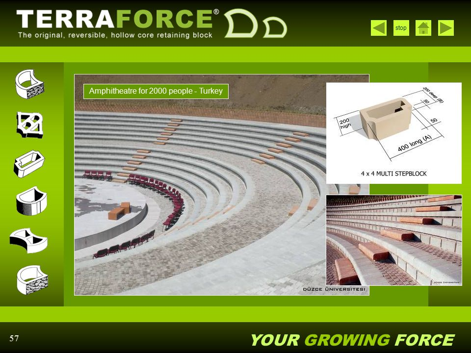 Amphitheatre for 2000 people - Turkey