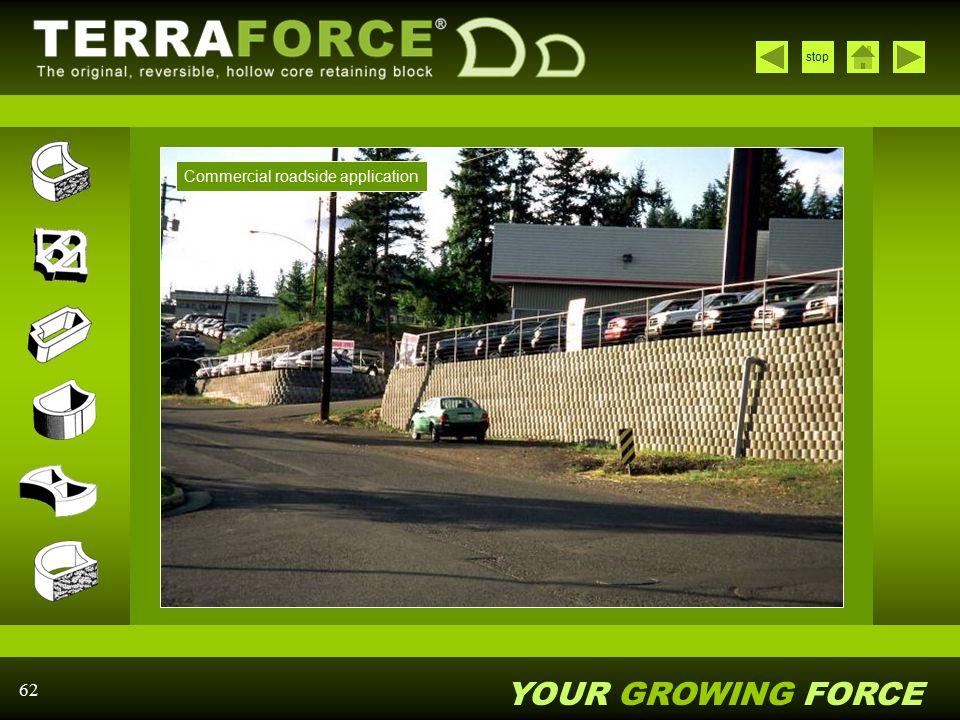 Commercial roadside application