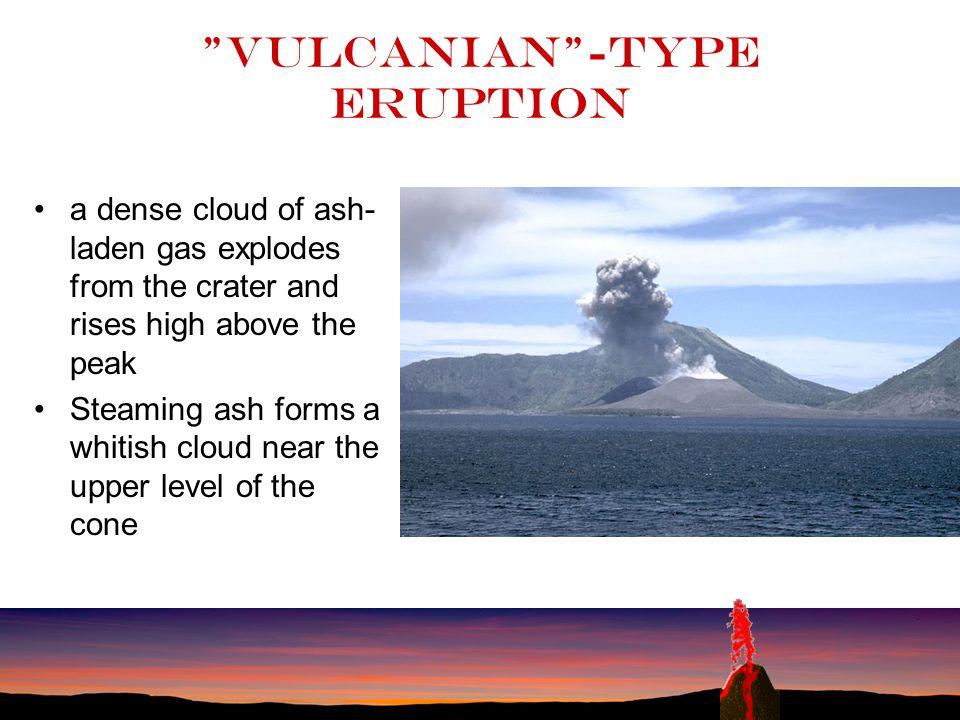 Vulcanian -type eruption