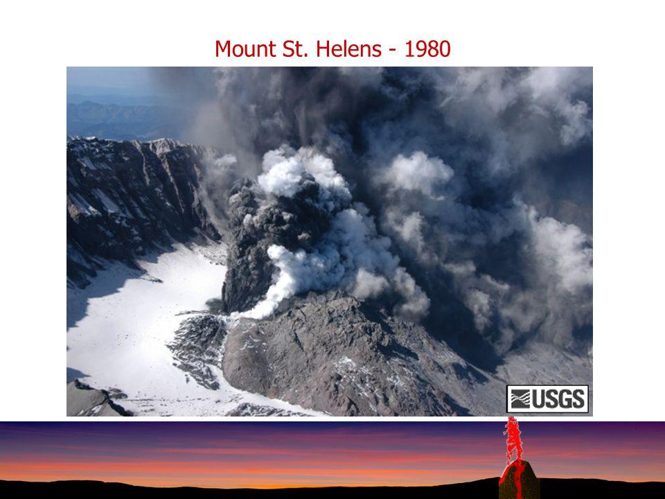 Mount St. Helens - 1980