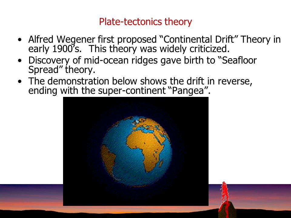 Plate-tectonics theory