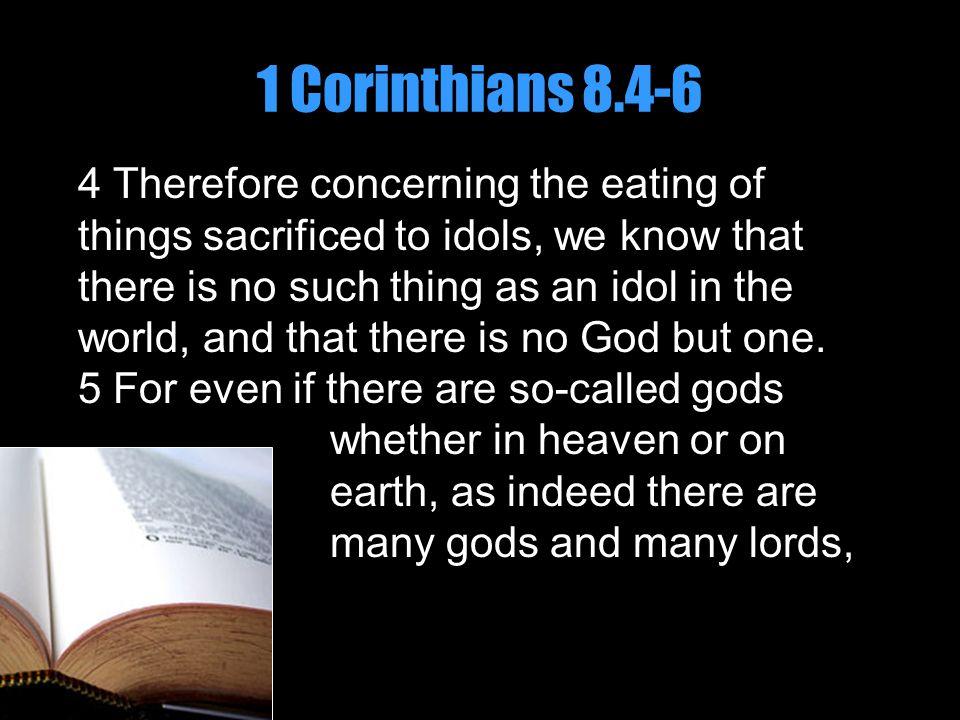 1 Corinthians 8.4-6