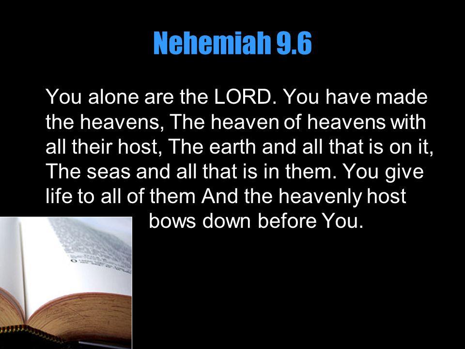 Nehemiah 9.6