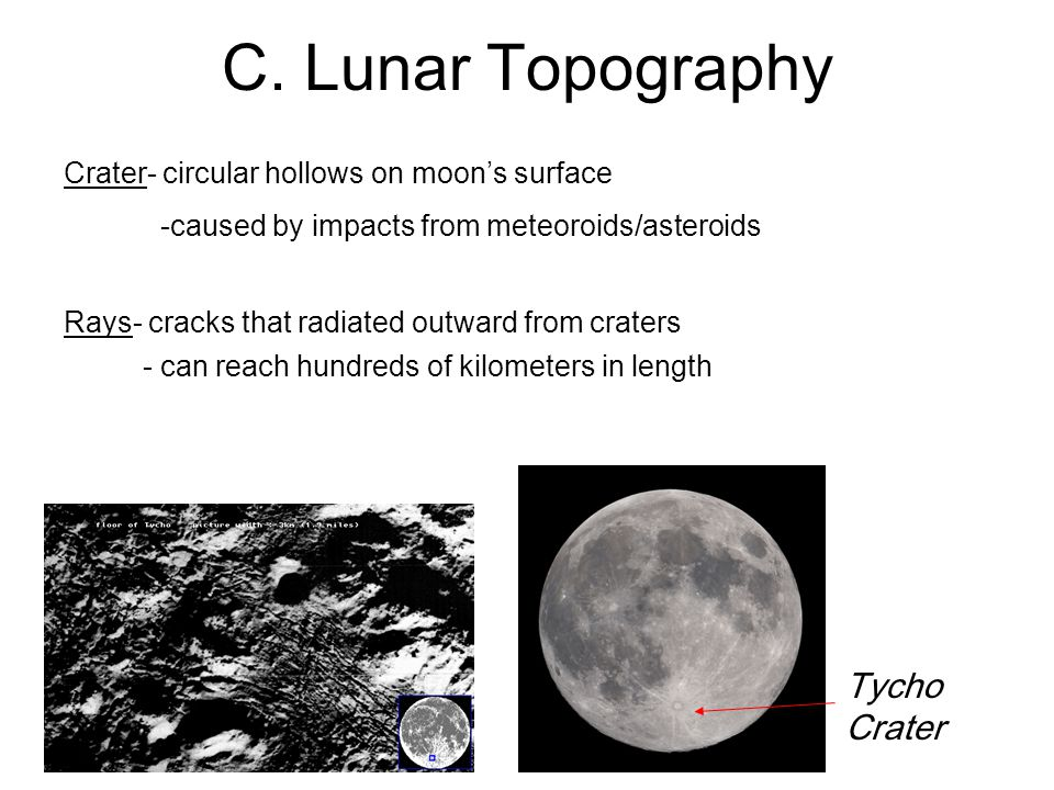 C. Lunar Topography Tycho Crater