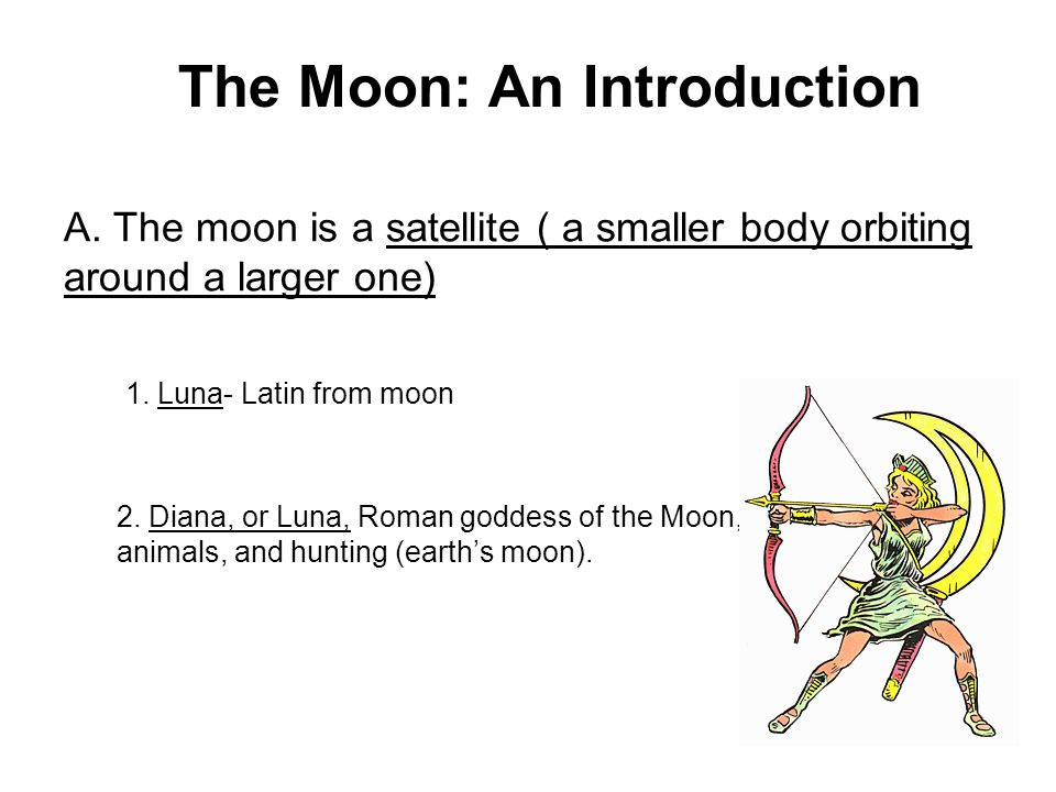 The Moon: An Introduction