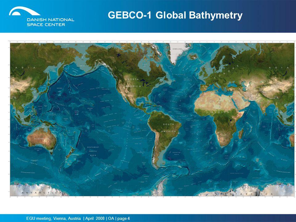 GEBCO-1 Global Bathymetry