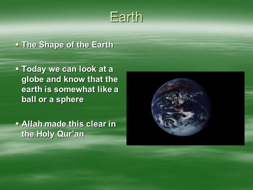 Earth The Shape of the Earth