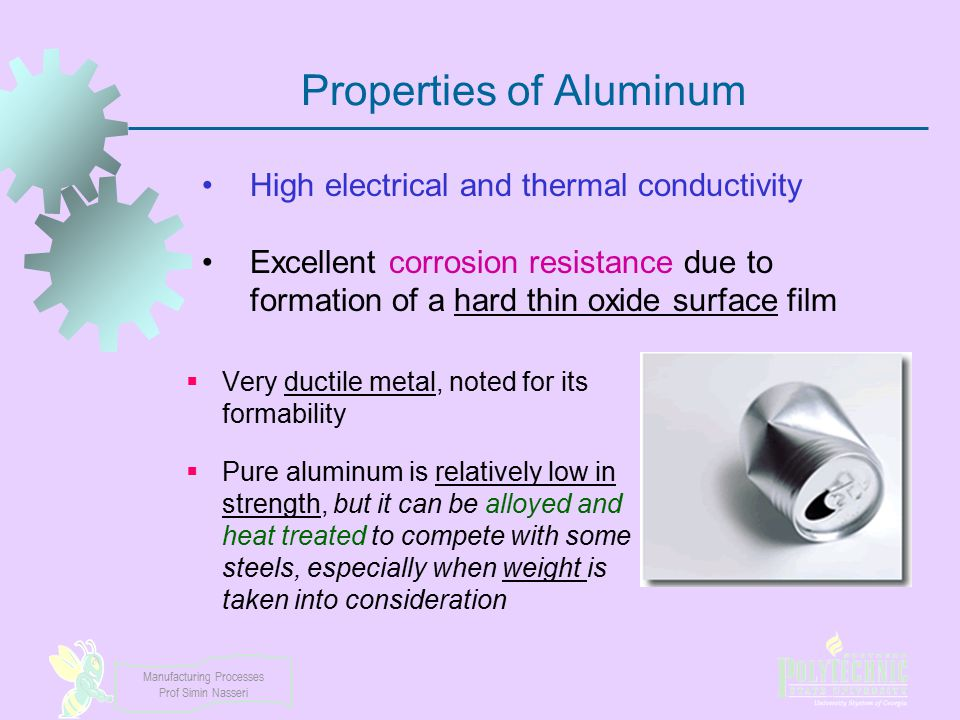 Properties of Aluminum