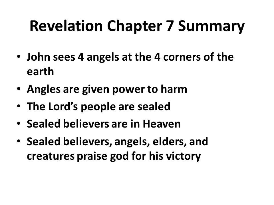 Revelation Chapter 7 Summary