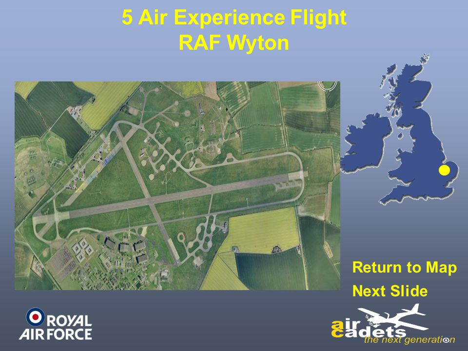 5 Air Experience Flight RAF Wyton