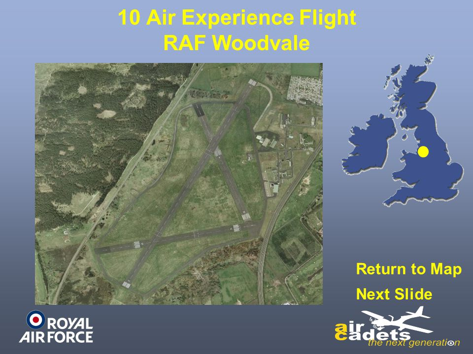 10 Air Experience Flight RAF Woodvale