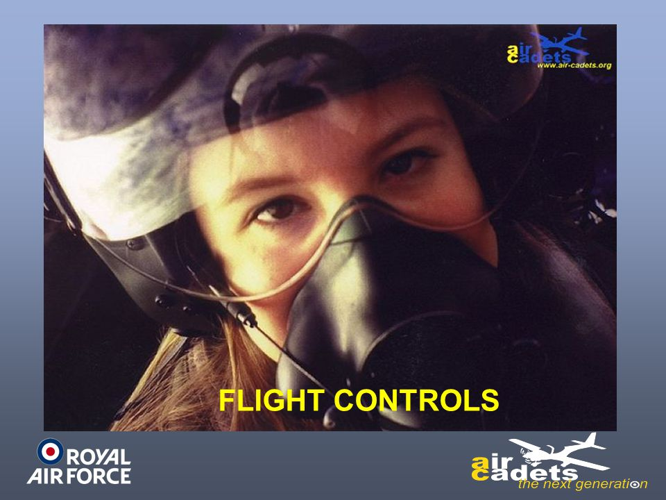 The main flying controls operate the elevators, ailerons and rudder and are used by the pilot to manoeuvre the aircraft.