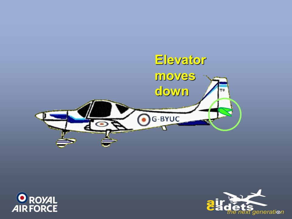 Elevator moves down