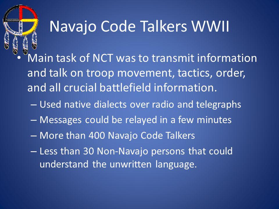 Navajo Code Talkers WWII