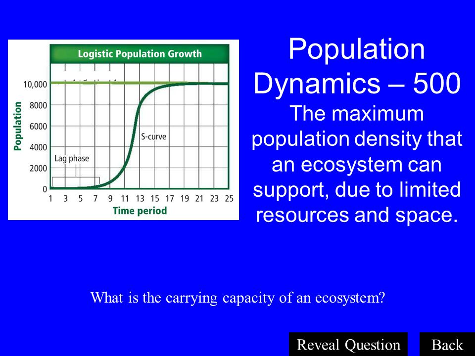 What is the carrying capacity of an ecosystem