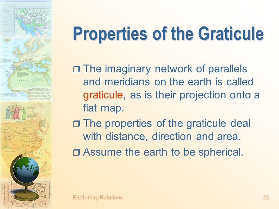 Properties of the Graticule