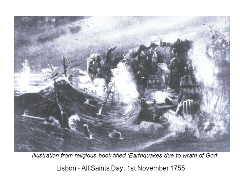 Lisbon - All Saints Day: 1st November 1755