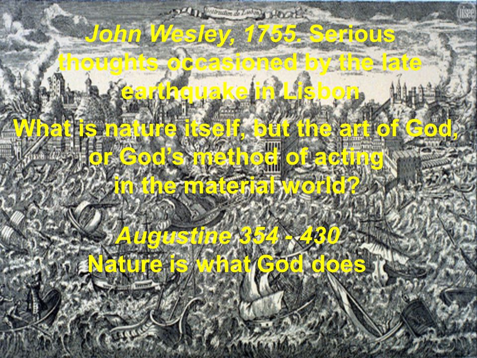 What is nature itself, but the art of God, or God's method of acting