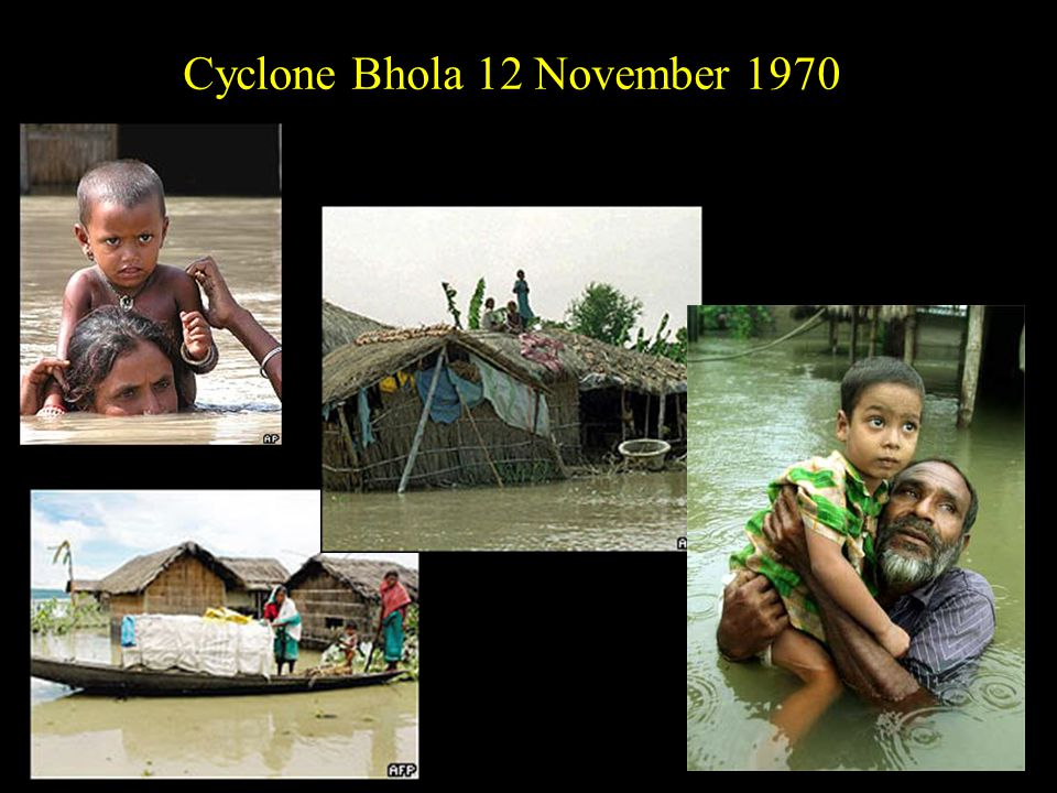 Cyclone Bhola 12 November 1970