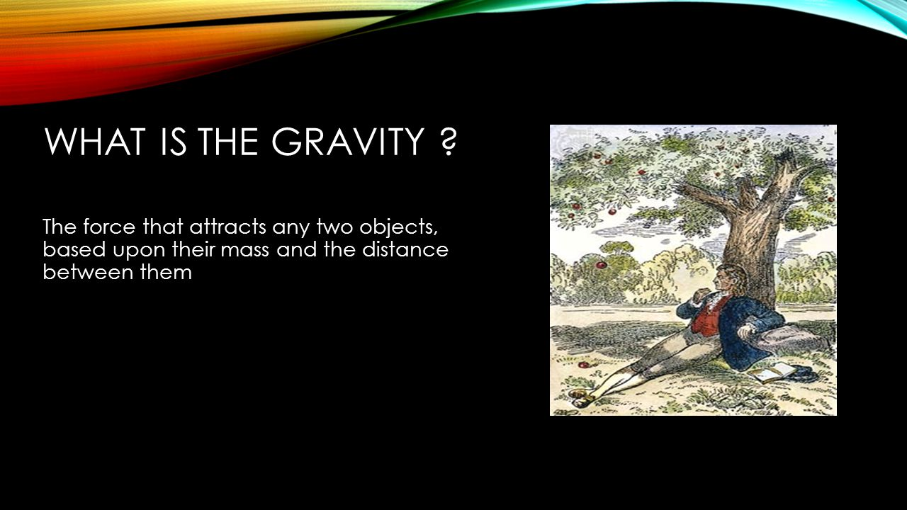 What is the gravity .