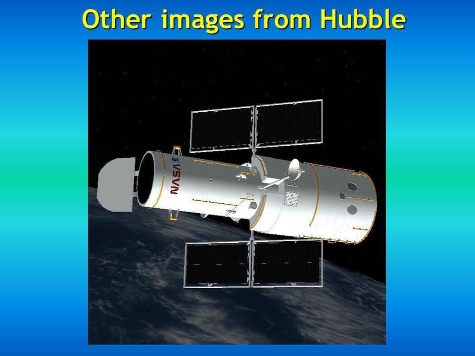 Other images from Hubble